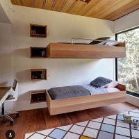 Design bunk bed melayang cocok buat kamar anak atau kost exclusive