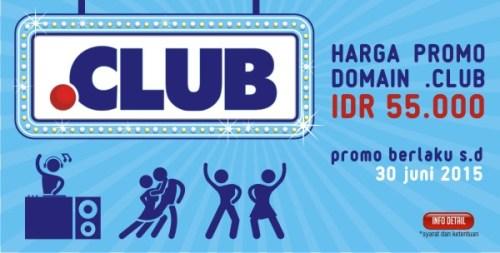 banner promo domain .club