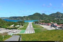 Gustaf III Airport, Caribbean