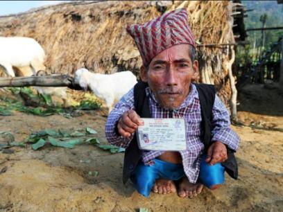 Shortest Man; Bahadur Dangi-1