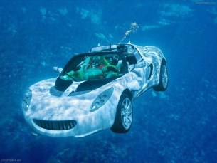 First submarine car; Ten Wacky Vehicles
