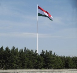 The Dushanbe Flagpole, Tajikistan