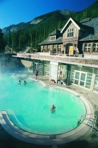 Banff Upper Hot Springs, Canada Extra-ordinary and Exceptional Pools; Soak Yourself Up