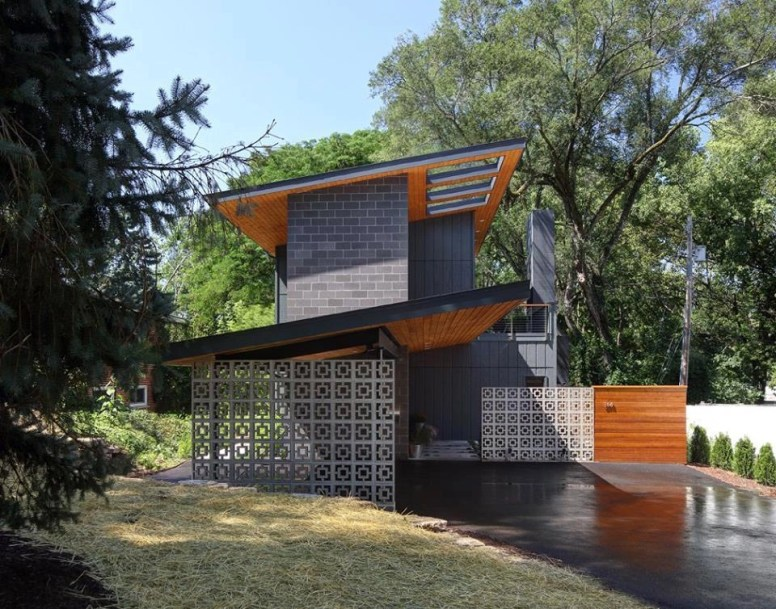 Midvale Courtyard House by Bruns Architecture (1)