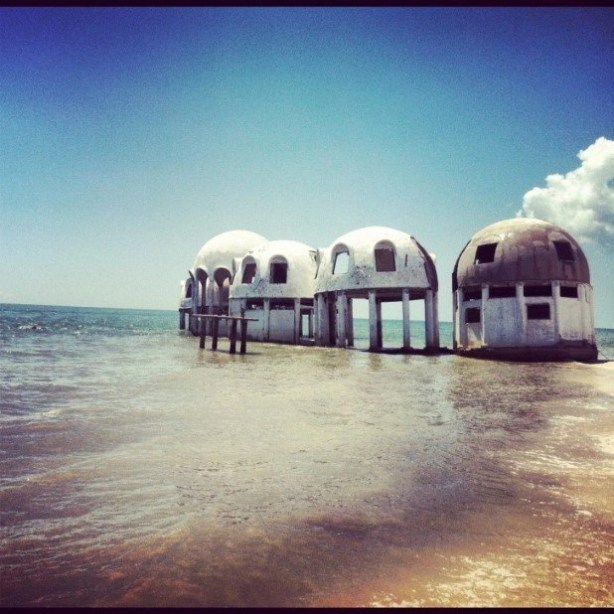 Mysterious dome houses in southwest Florida (2)