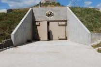 16,000 pounds armoured doors sealing-off the complex. (Photo: survivalcondo.com)