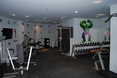 Gym and an indoor shooting range. (Photo: survivalcondo.com)