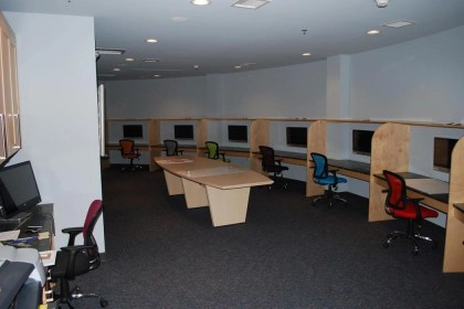 Classroom and office meeting space is available. (Photo: survivalcondo.com)