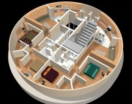 A Full-Floor Layout Plan. (Photo: survivalcondo.com)