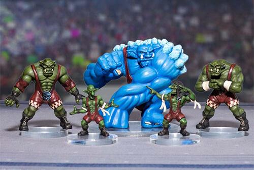 rumbleslam green bruisers miniatures