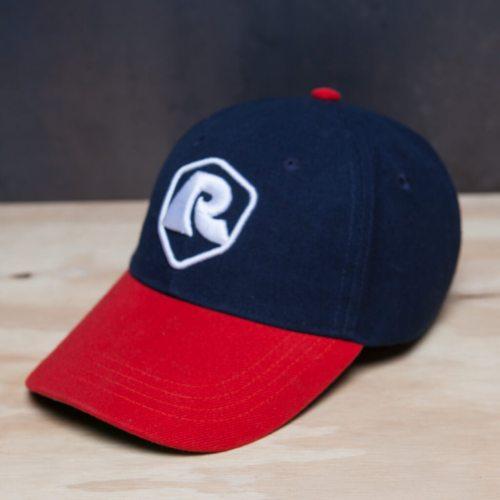 Rumble Cap Red Blue