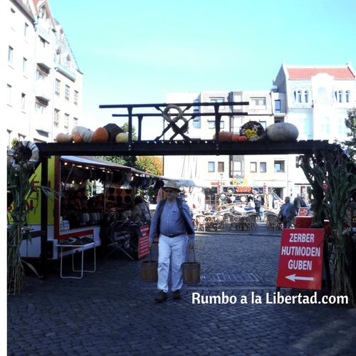 Mercado de otoño de Cottbus