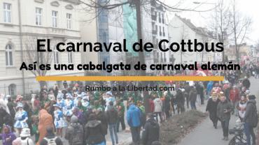 El carnaval de Cottbus: así es una cabalgata de carnaval alemán