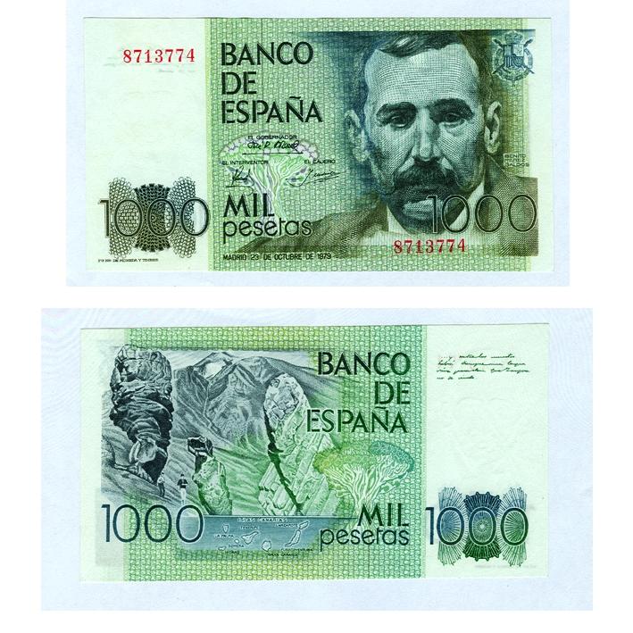 billete 1000 pesetas tenerife