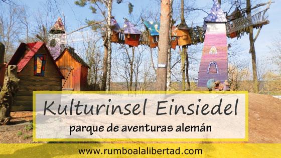 Kulturinsel Einsiedel: el mejor y más original parque de aventuras de Alemania