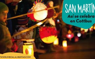 Así se celebra la fiesta de San Martín en Cottbus