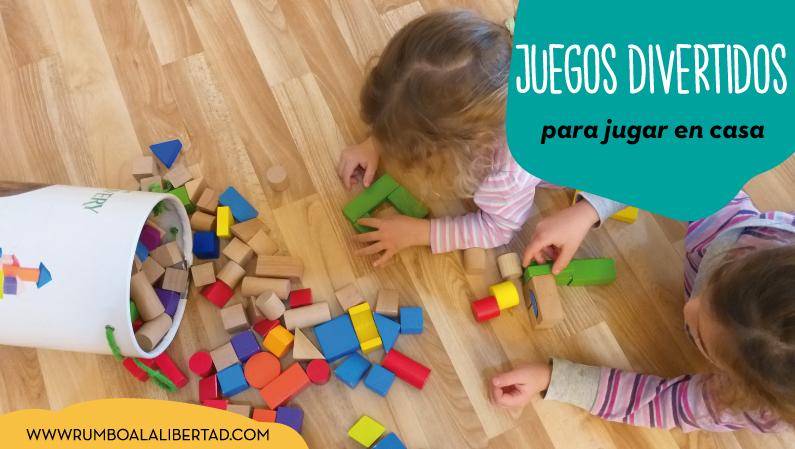 Juegos divertidos para jugar en casa con niños pequeños