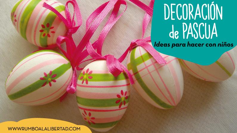 Ideas de decoración de pascua para niños