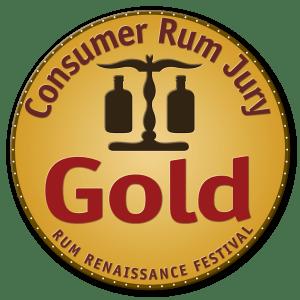 Consumer Rum Jury Gold Award