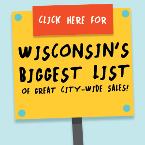 2019 Wisconsin City/Village/Town Wide Rummage Sale BIG LIST