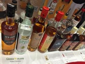 The range of Mauritian rum