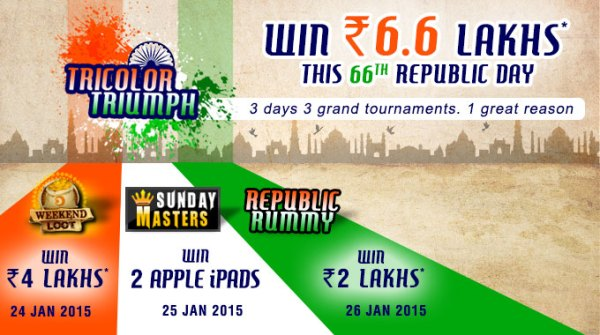 rummy circle republic day tournament