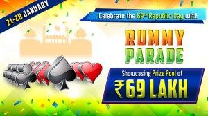 republic day cash rummy tournaments