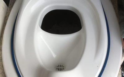 Trockentrenntoilette & Kindersitz von Separett