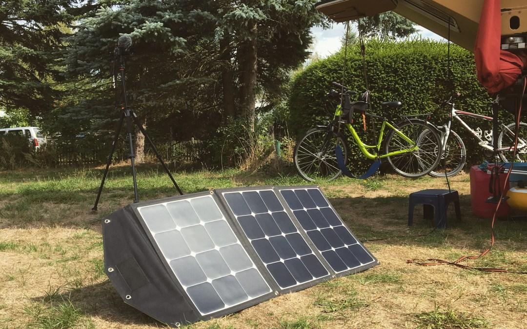 Mehr Energie durch Solartasche