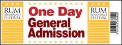 One Day General Admission Ticket - Rum Renaissance Festival