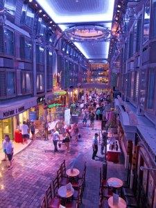Rum Cruise - the promenade