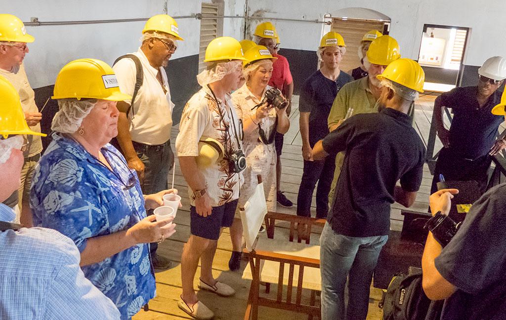 Rum Cruise - distillery tour