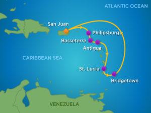 Rum Cruise Itinerary