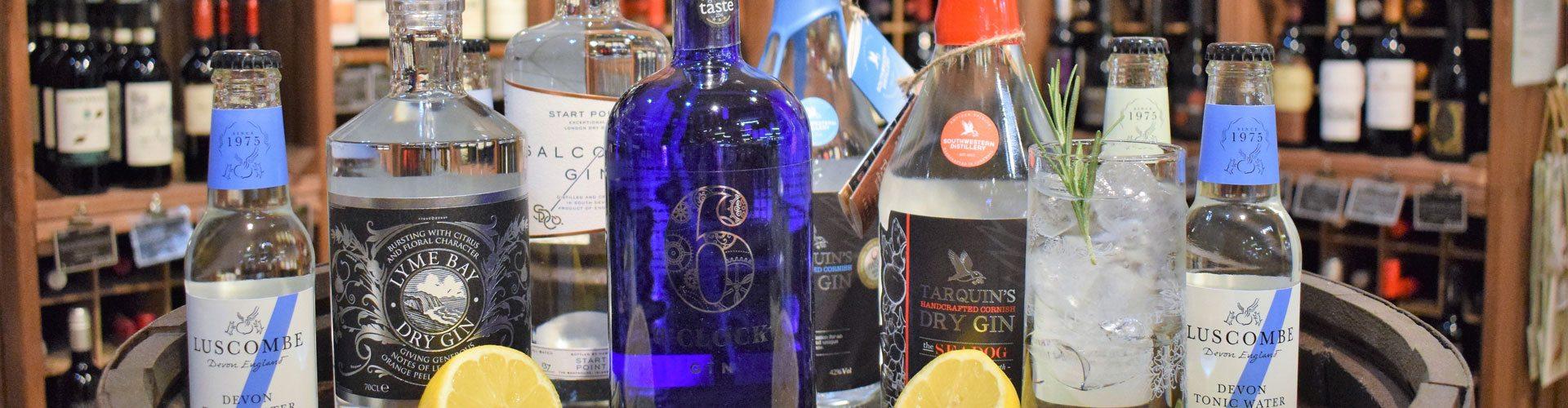 Rumwell Farm Shop & Cafe Gin Tasting Event