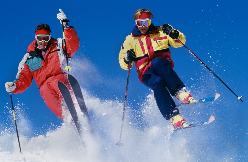 80's skier outfits