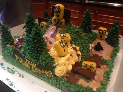 What a cake that was
