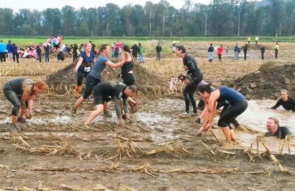 The mud fight