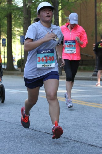5K PR Training Blog Series: Bad race photo