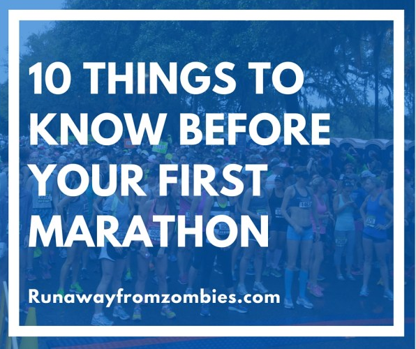 10 Things to Before your first Marathon