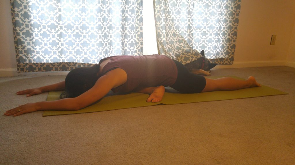 Yin Yoga for Runners Pigeon pose