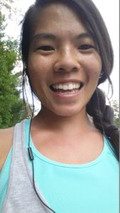 Starting Long Distance Running: selfie