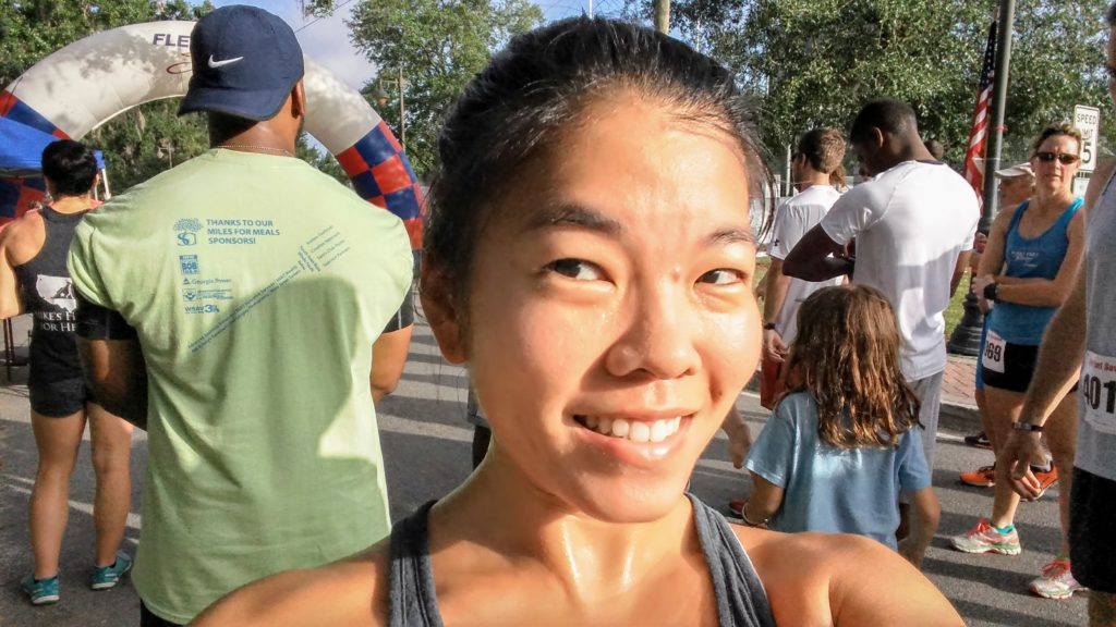 Miles for Meals 2017 - Sweaty Selfie
