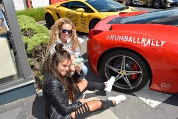 girls at runball