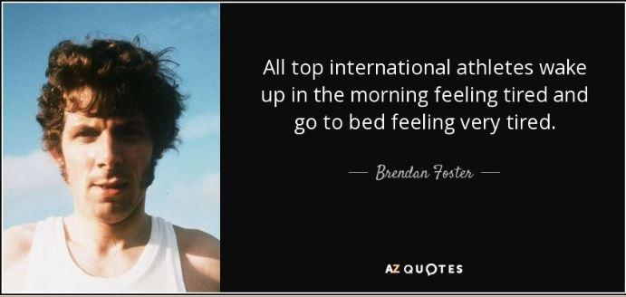Brendan Foster Quote.