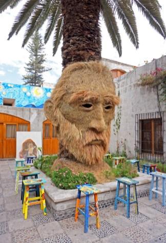 Van Gogh aus Stroh