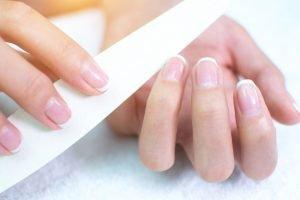 Ein Handbad Macht Die Hände Fingernägel Pflegen Profi