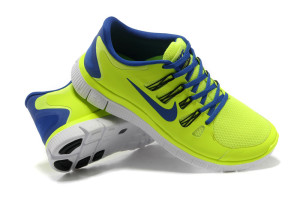 Nike-Free-5_0--Mens-Electric-Yellow-Blue-Running-Shoes---1-2