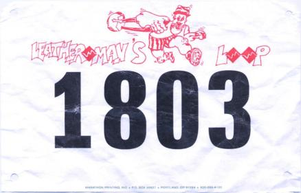 Leatherman's Loop 10K 2013. Finished at #77 in 51:05, pace 8:14