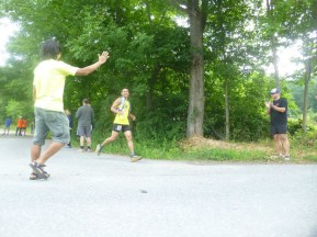 Jun in his Solo Division crushing the 50k mark - photo by Tom O Reilly