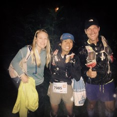 Sussie, me and Harald ready to go